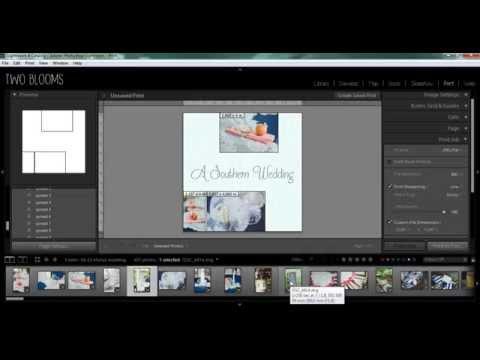 How to create custom photo albums in Lightroom