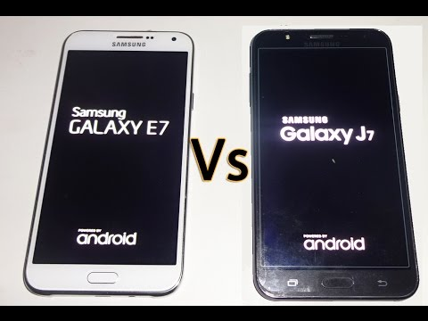 Samsung Galaxy J7 Vs Samsung Galaxy E7