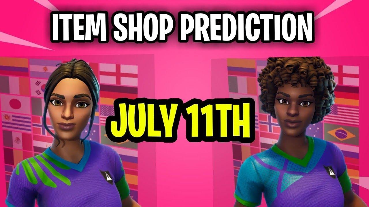 Fortnite Item Shop Prediction - July 11th 2020
