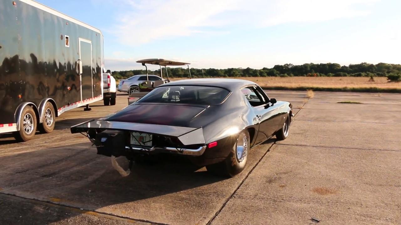 KILLER Package 1970 Camaro Split Bumper Z28 Race Car, Trailer and Golf Cart  For Sale
