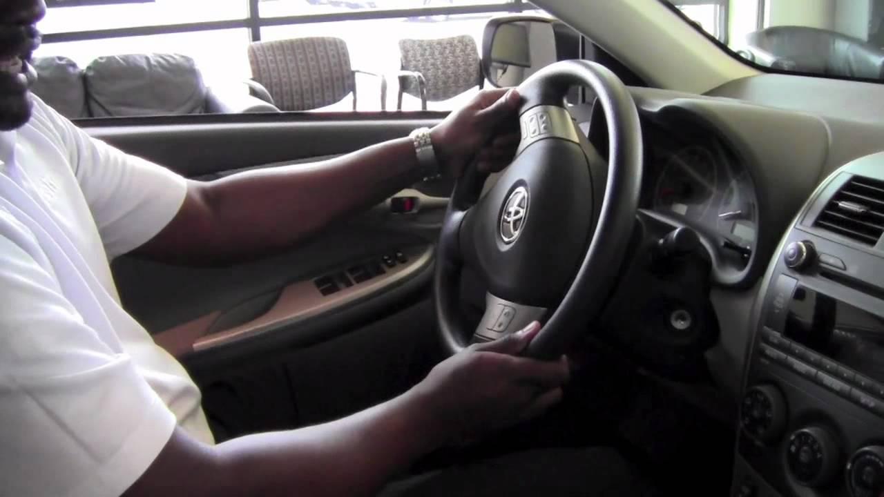 2011 | Toyota | Corolla | Steering Wheel Lock Release ...