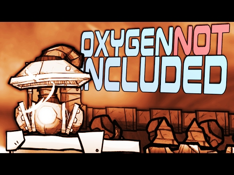 GAS PUMPING - Oxygen Not Included Gameplay - Gas Management & Pipes - ONI Gameplay Part 4