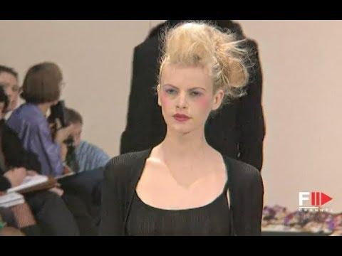 BETTY JACKSON Fall Winter 1997 1998 London - Fashion Channel
