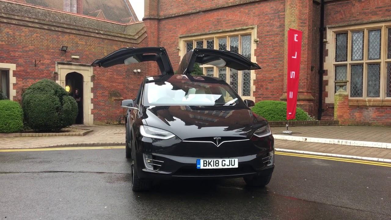 Tesla Model X Easter Egg Dance Youtube