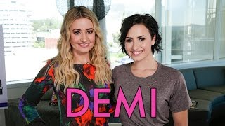 Demi Lovato: Beauty Expert? The Girl Knows Skin Care!