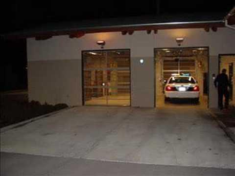 Sally Port Jail Security Door Youtube