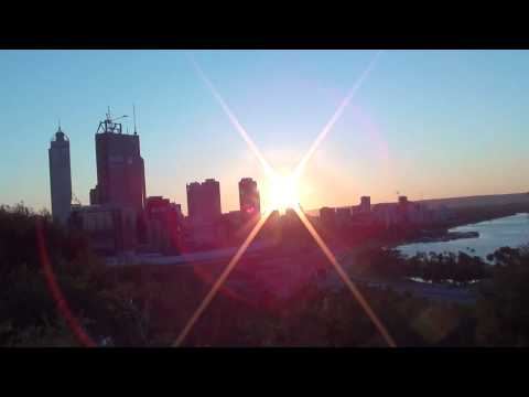 Perth Sunrise Timelapse