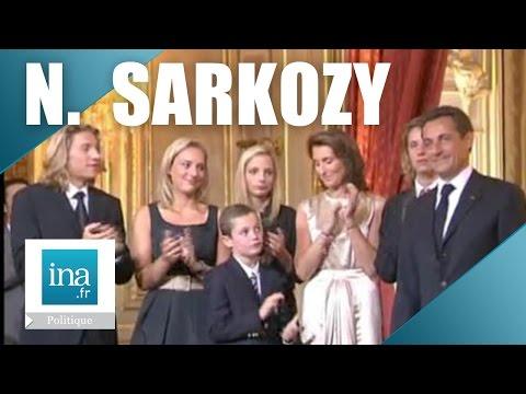 [La famille recomposée de Nicolas Sarkozy à l'Elysée]