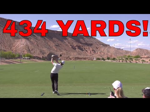 First Pro Long Drive Event for Drew Cooper  Shocking Result!