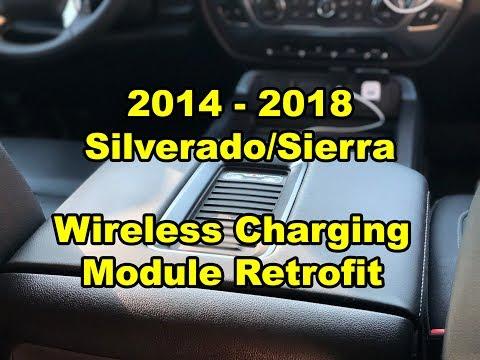 2014 - 2018: GM Silverado/Sierra - Wireless Lid Charging Module Retrofit