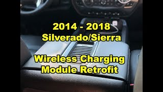 2014 - 2018:  GM Silverado/Sierra - Wireless Lid Charging Module Retrofit
