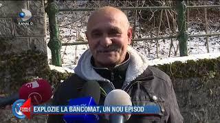 Stirile Kanal D (10.02.2020) - EXPLOZIE LA BANCOMAT, UN NOU EPISOD! Editie de seara