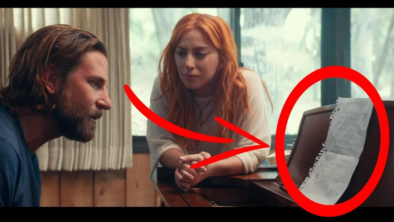 "10 Secrets you missed in ""I'll Never Love Again"" - Lady Gaga, Bradley Cooper (A Star Is Born #1"