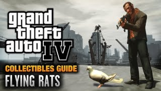 GTA 4 - Flying Rats Guide [Endangered Species Achievement / Trophy] (1080p)