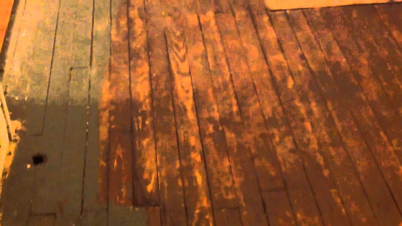How To Refinish Wood Floors Without Sanding Part 3