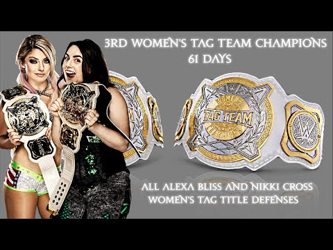 All Alexa Bliss and Nikki Cross' Women's Tag Team Title Defenses