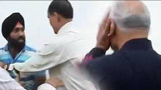 Sharad Pawar slapped by youth in Delhi