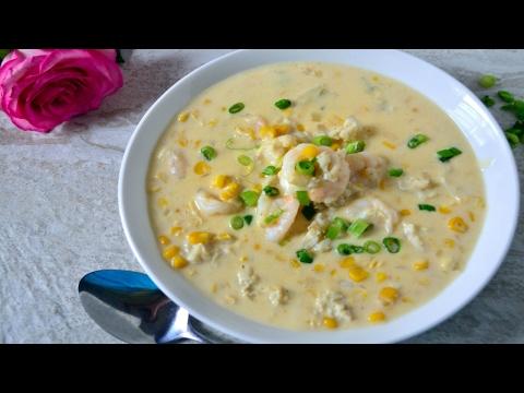 Shrimp Crab & Corn Bisque