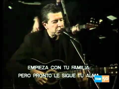 Leonard Cohen - Sisters Of Mercy Subtitulada en español