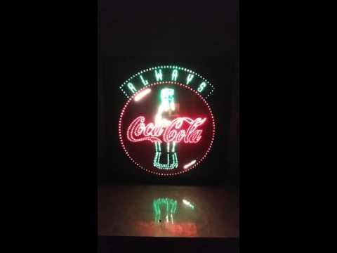 Coca Cola Led Sign