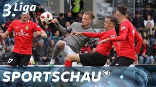 3. Liga: Großaspach mit Punkt gegen Hallescher FC   Sportschau