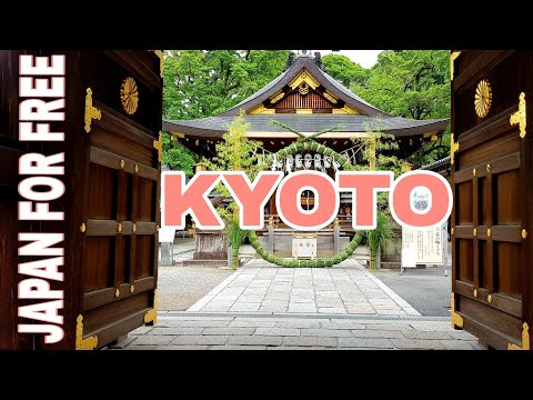 Best FREE Things to do in KYOTO JAPAN