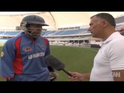 Afghanistan vs USA cricket in UAE