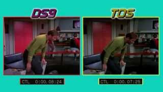 Tribbles Bridge Scene Comparison HD