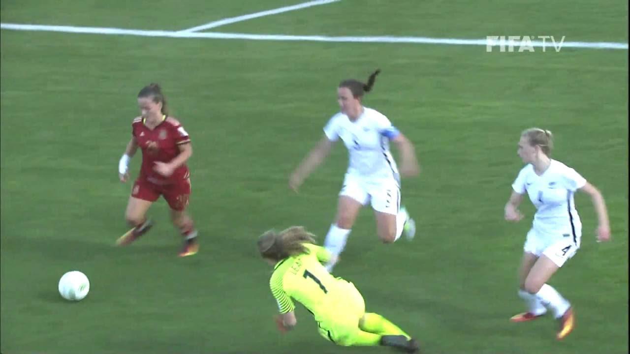 Match 10: Spain v New Zealand - FIFA U17 Women's World Cup Jordan 2016