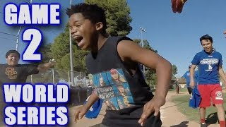 GABE'S FIRST HOME RUN! | On-Season Softball League | World Series Game 2