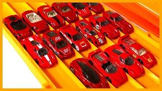16 x Ferrari Hot Wheels Super Elimination Tournament #HotWheelsFerrari