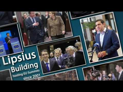 Justus Lipsius building: hosting EU summits since 2001