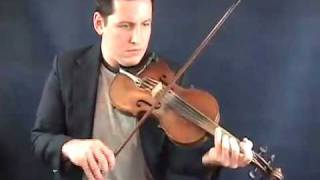THE HARVEST HOME - IRISH HORNPIPE - ONLINE FIDDLE LESSONS WITH IAN WALSH - www.OnlineLessonVideos.com