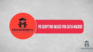 Catia V5 Automation Tutorials|VB Scripting & Macros for Beginners|Operator execution Order Ln 21
