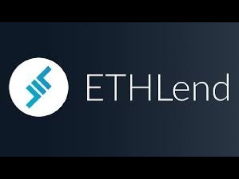 ETHLend - creating a free market for decentralized lending