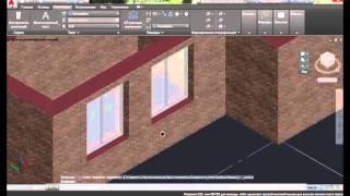 [AutoCAD Architectura]  Построение модели здания: часть 2 (окна и двери)