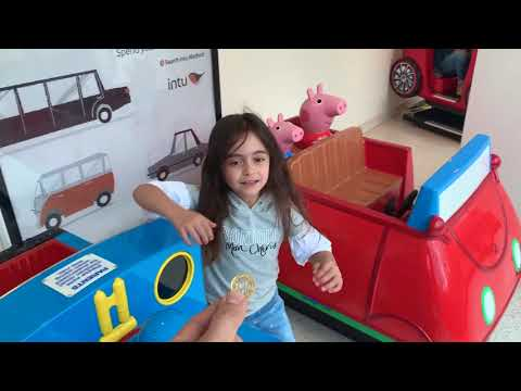 Emily Ride on Train and Daddy pig Car