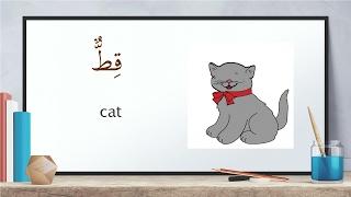 Animal names in arabic and english - حيوانات للاطفال بالانجليزي و العربية