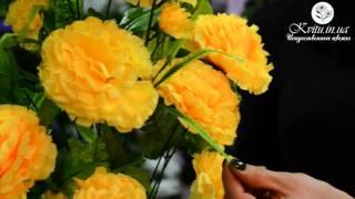 Искусственные цветы в магазине Kvitu.in.ua! № 515 Букет гвоздика большая, 75 см.(, 2016-01-12T09:52:03.000Z)
