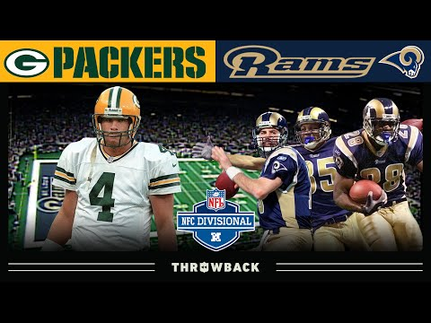 [NFL Throwback] Packers at Rams: 2001 NFC Divisional Playoffs