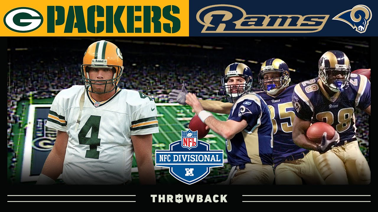 8 Turnovers in a Playoff Game is ROUGH! (Packers vs. Rams 2001, NFC Divisional Round)
