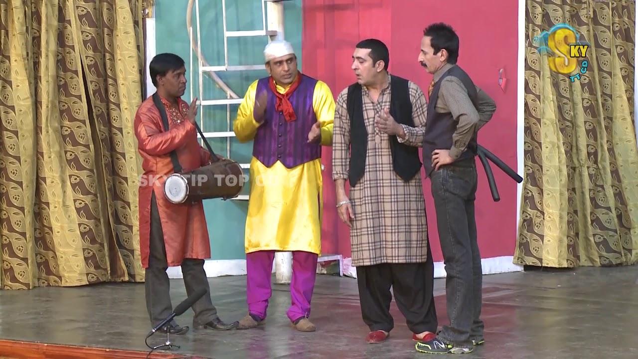 Iftikhar Thakur and Zafri Khan Pakistani Stage Drama Comedy Clip 2018 | Pk Mast