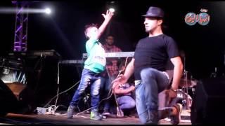 """إبراهيم الكورى مع فريق """" بريك دانس """" ينشر رقصاتة على جمهور رأس البر"""