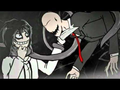 Знакомство Джеффа убийцы и Слендера. зловещий Джефф убийца