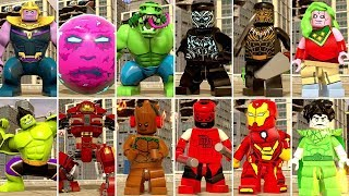 LEGO Marvel Super Heroes 2 - All DLC Characters
