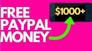 Earn FREE PayPal Money ($1000+ In 4 Mins)