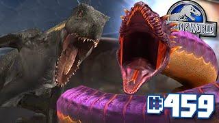 Now Thats A Big Snek!!! || Jurassic World - The Game - Ep 459 HD