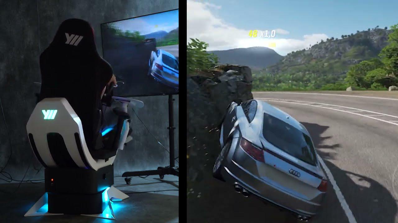 Yaw2 gameplay with Forza Horizon