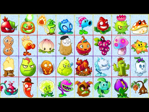 All Premium Plants in Plants vs Zombies 2: Team Plants vs Zombies!