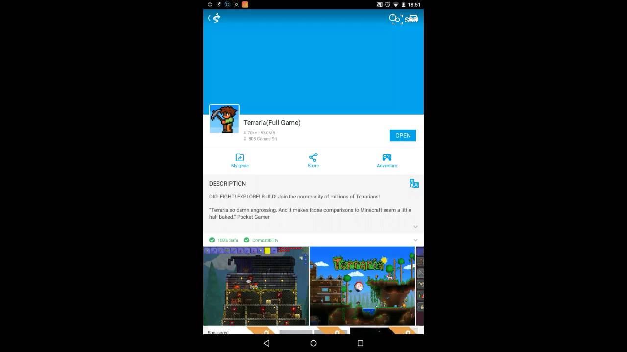 How To Fix Terraria Data Obb Error Android Youtube